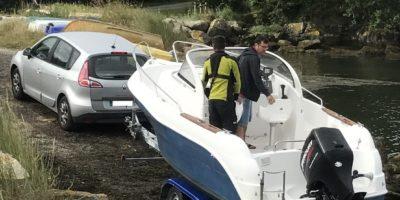 bateau ecole aber nautisme, préparation bateau